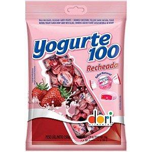 Bala Yogurte 100 Recheada Original Pacote 700g - Dori