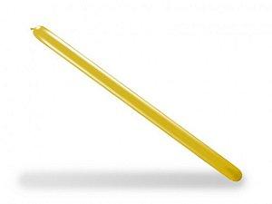 Balão Palito Para Modelagem Amarelo Citrino 50 Un - São Roque