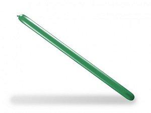 Balão Palito Para Modelagem Verde Folha 50 Un - São Roque