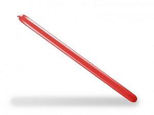 Balão Palito Para Modelagem Vermelho Quente 50 Un - São Roque