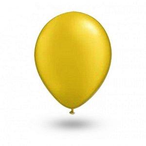Balão Série Imperial Amarelo Citrino n° 07 Pacote 50 Un - São Roque