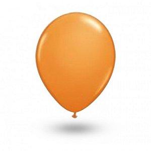 Balão Série Imperial Laranja Mandarin n° 07 Pacote 50 Un - São Roque
