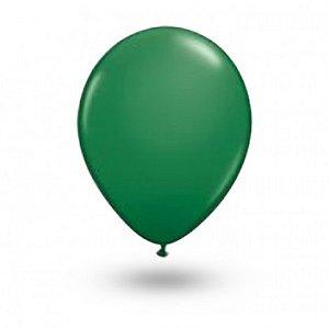 Balão Série Imperial Verde Folha n° 07 Pacote 50 Un - São Roque
