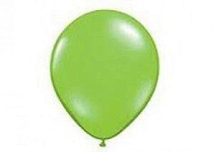 Balão Série Imperial Verde Maçã n° 07 Pacote 50 Un - São Roque