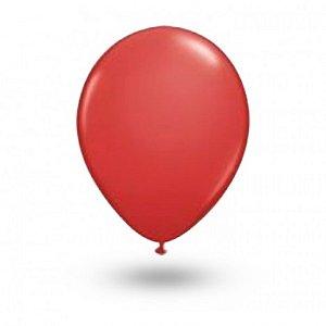 Balão Série Imperial Vermelho Quente n° 05 Pacote 50 Un - São Roque