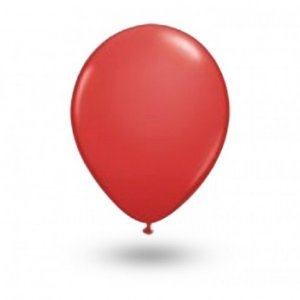 Balão Série Imperial Vermelho Quente n° 07 Pacote 50 Un - São Roque