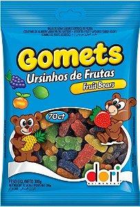 Balas Sortidas de Goma Formato Urso 600g - Catelândia