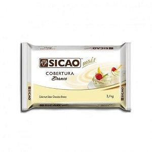 Barra de Chocolate Branco Culinário, Para Derreter Barra 2 Kg - Sicao