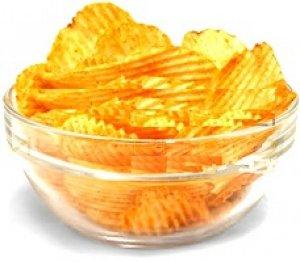 Batata Frita Ondulada Churrasco Embalagem Econômica - 20 Pacotes