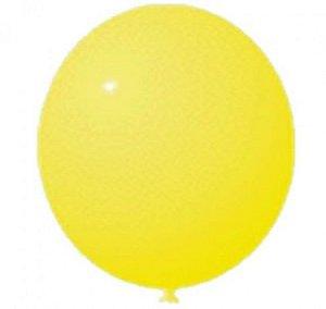 Bexigão Amarelo de Aniversário para Encher com Balas e Estourar - São Roque