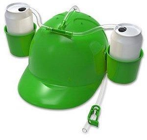Boné (capacete) Porta Latas Cerveja ou Refrigerante - Catelândia