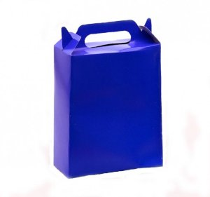 Caixa Surpresa para Doces e Guloseimas Azul 08 Un - Catelândia