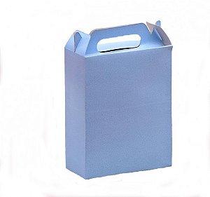 Caixa Surpresa para Doces e Guloseimas Azul Claro 08 Un - Catelândia