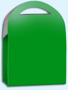 Caixa Surpresa para Doces e Guloseimas Verde 08 Un - Catelândia