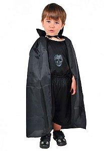 Capa Drácula Infantil Halloween Kids - Catelândia
