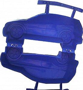 Carro Azul com Alça para Colocar Docinhos 05 Un  - Catelândia
