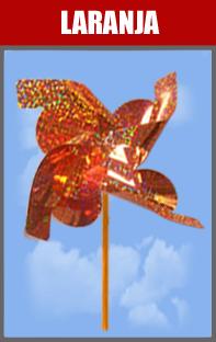 Catavento Holográfico para Lembrancinha de Festa Infantil 10 Un - Catelândia