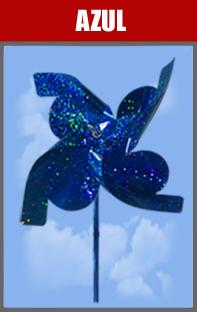 Catavento Holográfico para Lembrancinhas 10 Un - Catelândia