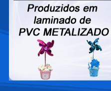 Catavento para Festa Infantil Poá Pink/Preto 10 Un - Catelândia