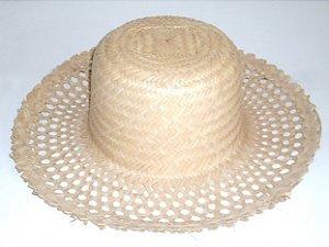 Chapéu de Palha Furadinho Feminino - Catelândia