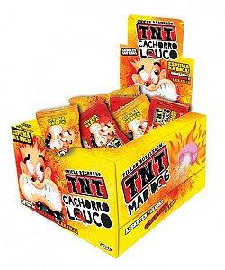 Chicle Recheado TNT Cachorro Louco Espuma na Boca 40 Un - Catelândia