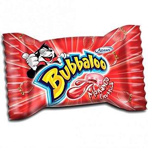 Chiclete de Bola Bubbaloo Morango com Recheio Líquido 300g - Adams