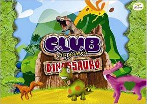 Chiclete de Bola Hortelã Club da Galera Dinossauro 100 Un - Aladim