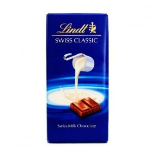 Chocolate Lindt Milk Swiss Classic Ao Leite - 100g