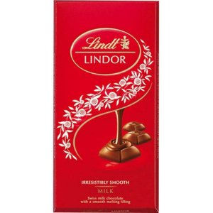 Chocolate Suíço Lindor Single Milk - Lindt