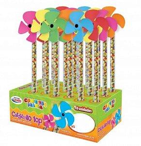 Confeito Mania Catavento Top com Balinhas Coloridas 15 Un - Catelândia