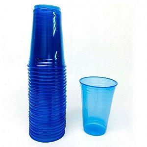 Copo Azul Brilha na Luz Negra ou Neon 25 Un 300 ml - Catelândia