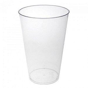 Copo Transparente Cristal Descartável Resistente 300 ml 10 Unidades - Catelândia