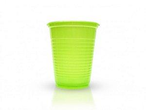 Copos Descartáveis 200 ml Verde Claro 50 Unidades - Catelândia