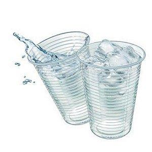Copos Translucidos Descartáveis 250 ml para Refrigerante 100 Unidades - Catelândia