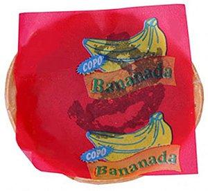 Doce de Banana Cremoso na Casquinha Crocante 50 Un - Catelândia