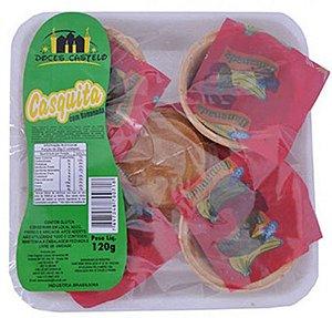 Doce de Banana Cremoso no Copinho Waffer Crocante 120g - Doces Castelo
