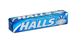 Drops Halls Mentol Lyptus c/ 21 unidades - Adams