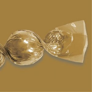 Embalagens para Trufas e Bombons 100 Un Ouro - Catelândia