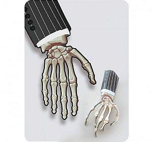 Enfeite Decorativo - Mãos P/ Decorar Mesas - Festa Halloween - 06 Un - Catelândia