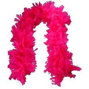 Estola Pluma de Penas Pink - Catelândia