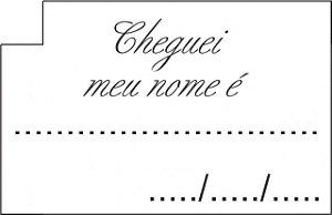Etiquetas para Confeccionar Lembrancinhas Chá de Bebê 50 Un - Catelândia