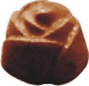 Forma de Chocolate Bombom Rosa 12g - BWB