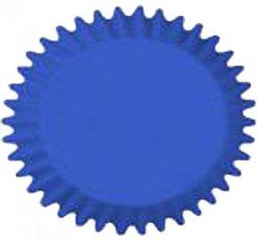 Forma Prática que Vai ao Forno para Cup Cake Mini Bolo Azul - Catelândia