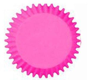 Forma Prática que Vai ao Forno para Cup Cake Mini Bolo Pink - Catelândia