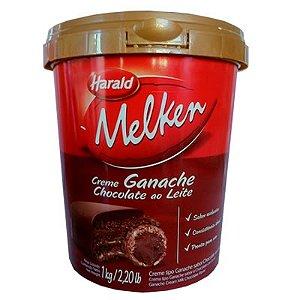 Ganache ao Leite Melken Pode Rechear Ovo de Páscoa de Colher 1kg - Harald