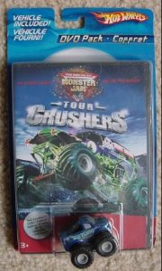 Hot Wheels Monster Jam + Dvd Pack Com Carrinho Blue Thunder - Catelândia