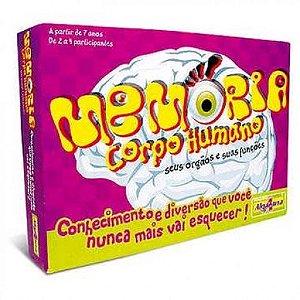 Jogo Educativo Memória Corpo Humano - Catelândia