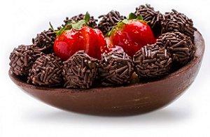 Kit Completo P/ Fazer 2 Ovos De Páscoa De Collher com Chocolate Garoto