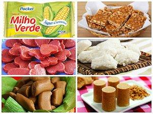 Kit de Doces para Festa Junina Perfeito para 50 Pessoas - Catelândia