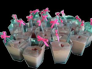 Laço Mosquitinho Rosa 50 Un para Colherinha de Brigadeiro Mole ou Lembrancinhas - Catelândia